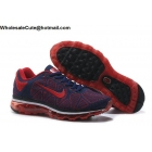 wholesale Mens & Womens Nike Air Max 2009 Flyknit Red Navy Blue