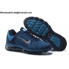 wholesale Mens Nike Air Max 2009 Flyknit Navy Blue Silver