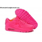 Womens Nike Air Max 90 All Pink Running Shoes
