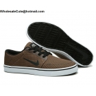Nike SB Portmore Ale Brown Mens Canvas Skateboarding Shoes