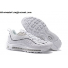 wholesale Supreme Nike Air Max 98 White Mens Running Shoes