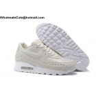 Mens & Womens Nike Air Max 90 Woven Rice White Running Shoes