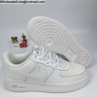 wholesale Nike Air Force 1 Low Woven White Mens AF1 Shoes