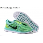 wholesale Mens & Womens Nike Roshe Two Flyknit Jade Volt