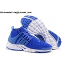 wholesale Mens & Womens Nike Air Presto Ultra Flyknit Blue White