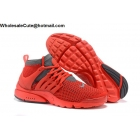 wholesale Mens Nike Air Presto Ultra Red Grey Running Shoes