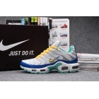 wholesale Mens & Womens Nike Air Max Plus TN White Blue Yellow