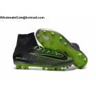wholesale Mens & Womens Nike Mercurial Superfly V AG-PRO Grey Green