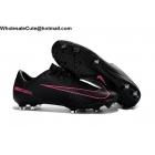 wholesale Mens Nike Mercuriial Vapor XI FG Black Pink Soccer Cleats