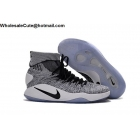 wholesale Mens & Womens Nike Hyperdunk 2016 Flyknit Oreo White Black