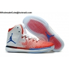 wholesale Mens Air Jordan XXXI 31 White Red Blue Basketball Shoes