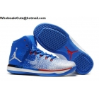 wholesale Mens Air Jordan XXXI 31 Blue White Red Basketball Shoes