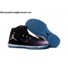 Mens Air Jordan XXXI 31 Black Purple White