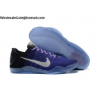 Womens Nike Kobe 11 Eulogy Purple Black Basketball Shoes