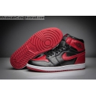wholesale Air Jordan 1 Banned Black Red White Mens Basketball Shoes