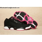 wholesale Womens Air Jordan Horizon Low GS Black Vivid Pink White