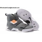 wholesale Mens Nike Zoom LeBron Soldier 10 Cool Grey White