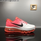 Womens Nike Air Max 2017 Leather Pink White Black