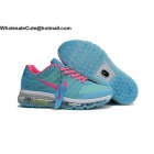 wholesale Womens Nike Air Max 2017 Blue Pink White