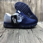 wholesale Mens Nike Air Max 2017 Flyknit Navy Blue White