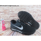 wholesale Mens Nike Air Max 2017 Flyknit Black Grey White