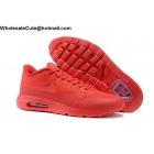 Mens & Womens Nike Air Max 1 Ultra Flyknit All Red