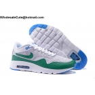 wholesale Mens Nike Air Max 1 Ultra Flyknit Brazil White Green Grey