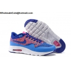 Womens Nike Air Max 1 Ultra Flyknit Blue Pink White