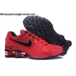 Nike Shox Avenue Red Black Mens Running Shoes