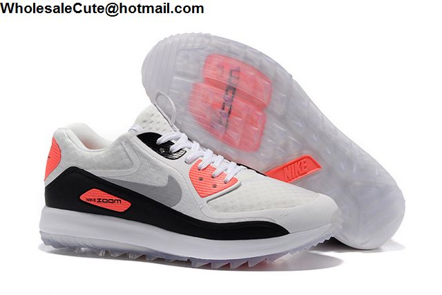 lowest price f5f64 46746 Mens & Womens Nike Air Max Zoom 90 IT Infrared Golf Shoes ...