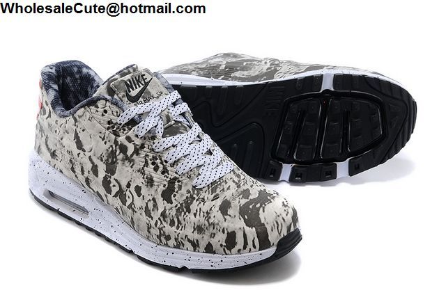 Mens Nike Air Max 90 Lunar SP Moon Landing 3M Grey White