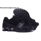wholesale Nike Shox Avenue All Black Mens Running Shoes