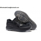 wholesale Mens & Womens Nike Air Max Zoom 90 IT All Black Golf Shoes