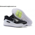 wholesale Mens & Womens Nike Air Max Zoom 90 IT Black White Golf Shoes