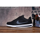 Mens & Womens Nike Cortez Ultra Moire Black White Trainer