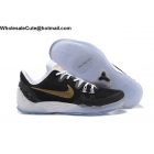 wholesale Mens Nike Zoom Kobe Venomenon 5 Black Gold White