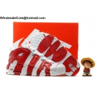 Mens Nike Air More Uptempo White Gym Red Basketball Shoes