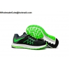 wholesale Mens Nike Air Zoom Winflo 3 Black Green White Size US7 - US13