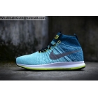 wholesale Nike Air Zoom All Out Flyknit Light Blue Mens Running Shoes