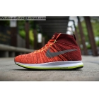 wholesale Nike Air Zoom All Out Flyknit Orange Red Mens Running Shoes