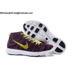Mens Nike Lunar Flyknit Chukka HTM Wine Red Yellow White