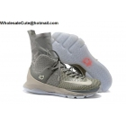 wholesale Nike KD 8 Elite NEUTRAL Wolf Grey Mens Basketball Shoes