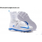 wholesale Nike KD 8 Elite White Blue Mens Basketball Shoes