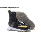 wholesale Nike KD 8 Elite Black Gold Mens Basketball Shoes