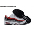 wholesale Mens Nike Air Max 95 White Grey Red Size US7 - US13