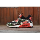 Mens & Womens Nike Air Max 90 MID Green Red Camo Sneakerboot