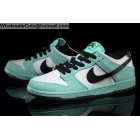wholesale Mens & Womens Nike SB Dunk Low Sea Crystal Green White