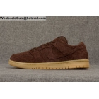 Mens & Womens Nike SB Dunk Low Premium Bigfoot Baroque Brown Gum