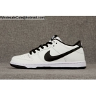 wholesale Mens & Womens Nike SB Dunk Low IW Ishod Wair White Black