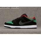 wholesale Mens Nike Dunk Low Pro SB Reptile Black Green White